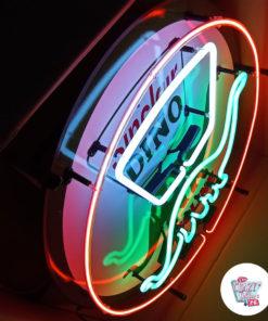 Neon Dino Sinclair-plakat