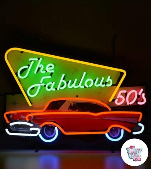 Neon Fabulous Fifties på plakat