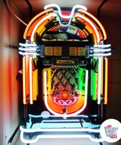 Neon Wurlitzer Jukebox-bokseplakat
