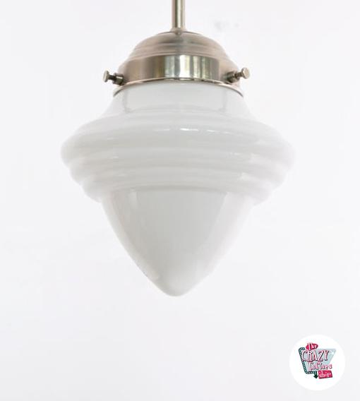 Vintage Eichel Lampe 16