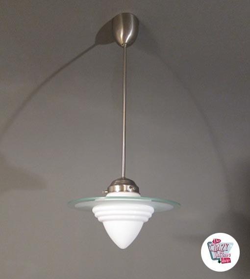 Vintage Eichel Lampe 16 S