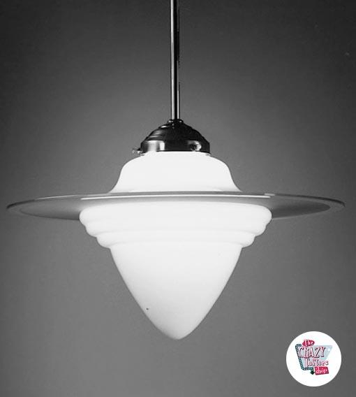 Vintage Eichel Lampe 27 S