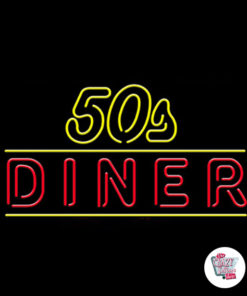 Neon 50'lerin Diner Posteri