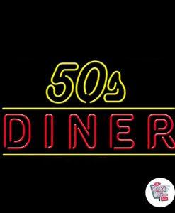 Neon Retro 50s Diner