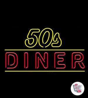 Néon Retro 50s Diner