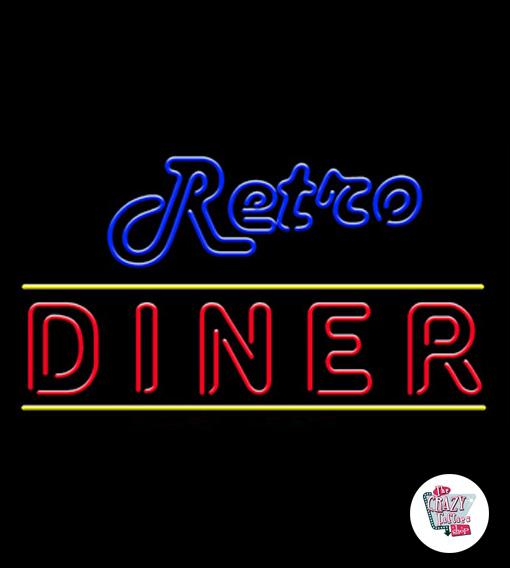 Ретро Neon Diner
