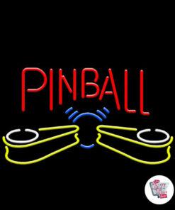 Neon Pinball-plakat