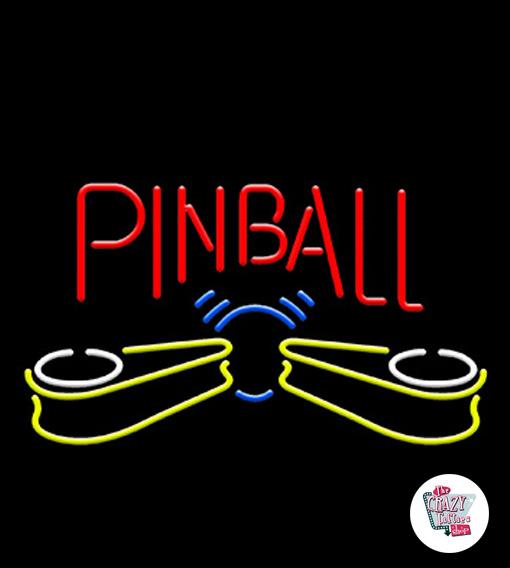 Neon Retro Pinball