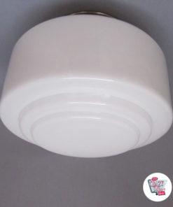 Vintage taklampe O-4287-10
