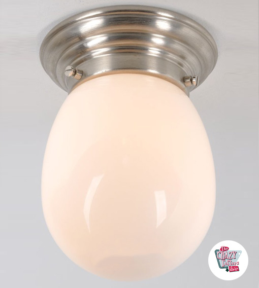 Vintage taklampe O-4204-8MP