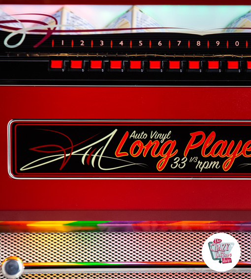 Jukebox Vinyl Long Player LP