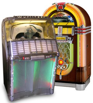 Unrestaurierte Original-Jukebox