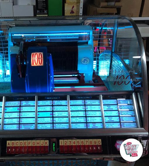Seeburg HF100 G Jukebox senza ripristinare il funzionamento