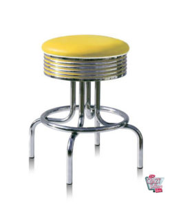 Stool Retro Diner BS2866 Americana