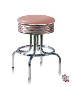 Stool Retro American Diner BS2866