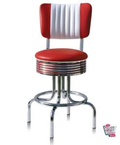 Retro American Diner Bar Stool BS2866CB