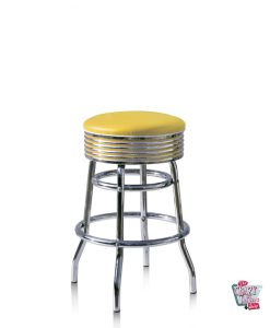 Stool Retro Diner BS2966 Americana