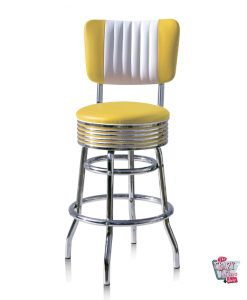 Retro American Diner Bar Stool BS2966CB