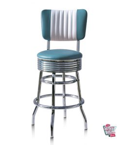 Retro American Diner Hocker BS2966CB