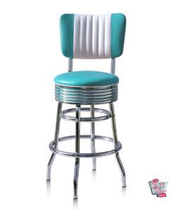 Stool Retro Diner BS2966CB Americana