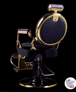 retro Barber Chair Vintage Gold