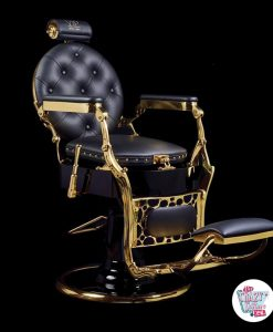 Vintage Gold Barber Armchair
