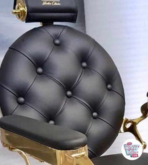 Rygstøtte Barber Chair Vintage Gold