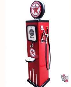 Petrol pump with beer dispenser tap