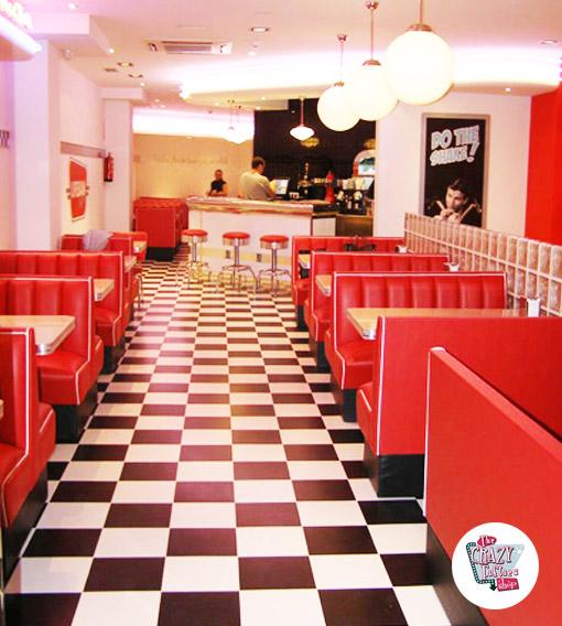 Amerikanischer Burger Urban Diner