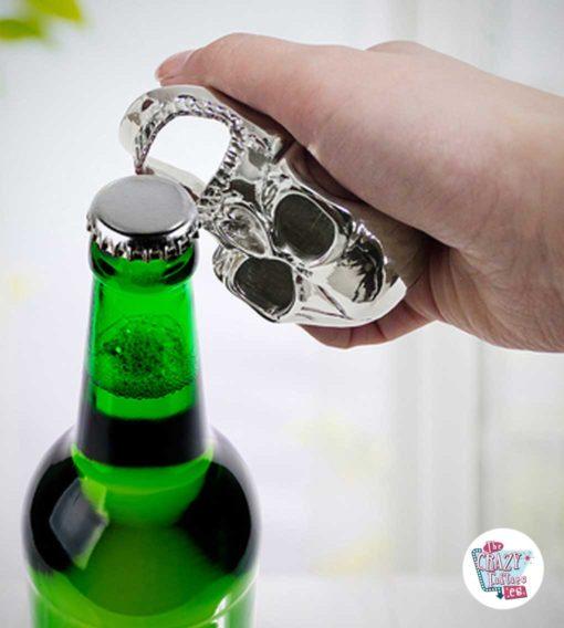 Calavera bottle opener