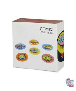 Comic Coaster Packaging