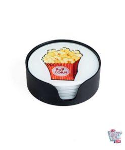 Fast-Food-Untersetzer gestapelt