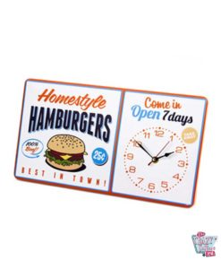 Reloj Pared Burger