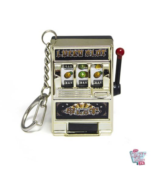 Keychain slot machine