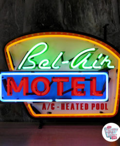 Neon Retro Bel-Air Motel