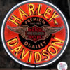 Neon retrò Harley-Davidson Circle