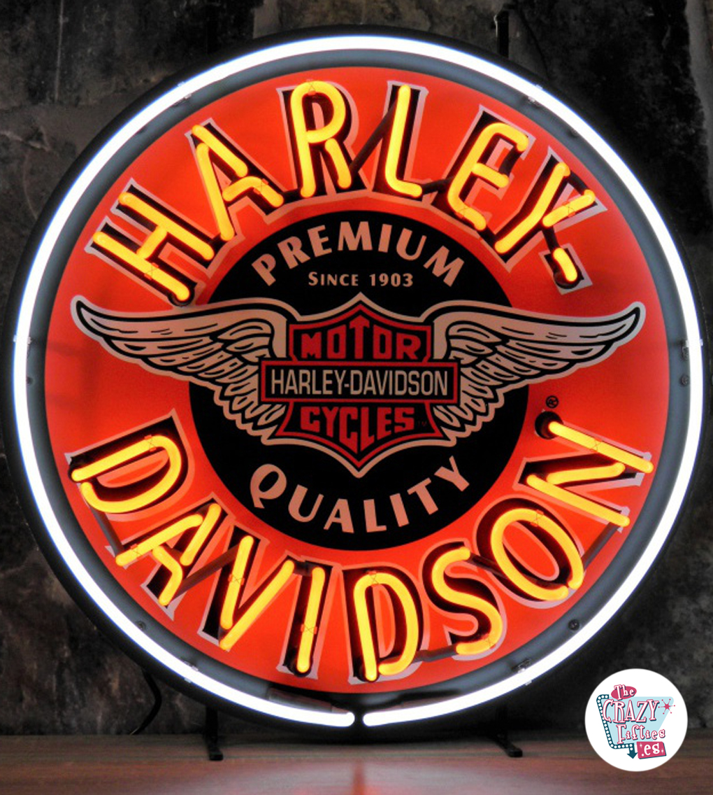 Neon Harley-Davidson Circle poster for € 569