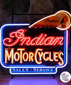 Neon Sign Indian Motorcycles