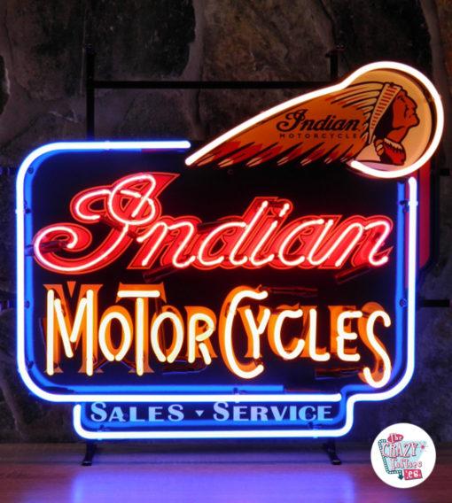 Neon Retro indiske motorsykler