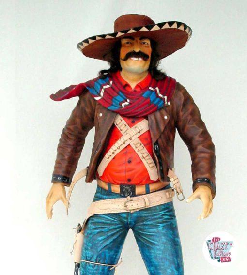 Vill vest-meksikansk bandittdekorasjon