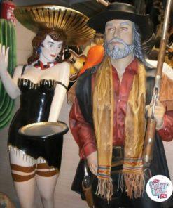 Vill vest-meksikansk servitørdekorasjon