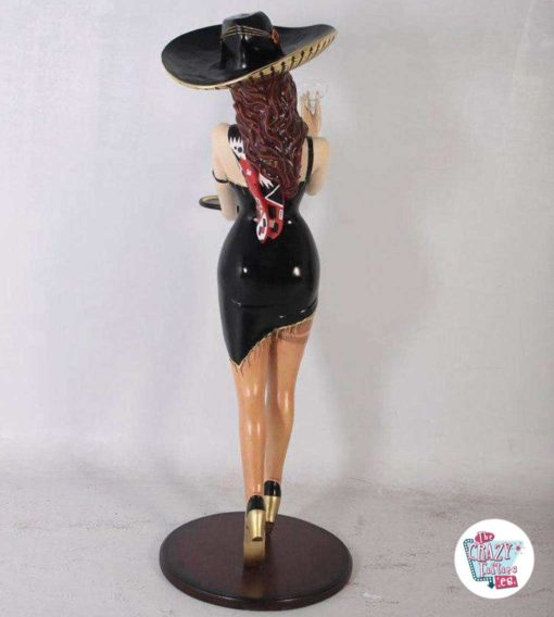 Wild West Mexican Kellnerin Dekoration