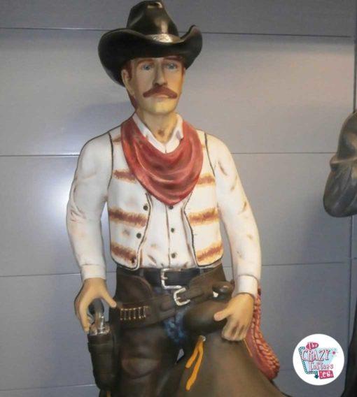 Wild West Cowboy dekorasjon med sal