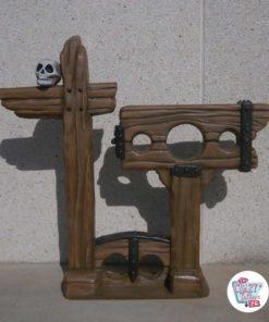 Fotocall thematische Dekoration der Folter mit Fesseln