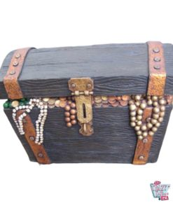 Figur Dekorasjon Pirate Treasure Chest