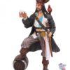 Piratdekorasjonsfigur med øl