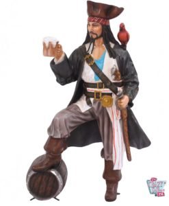Decorazione pirata con birra