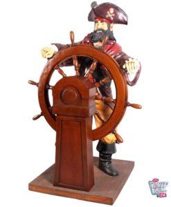 Figur Piratdekoration med ror