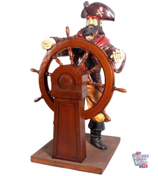 Figur Piratdekorasjon med ror
