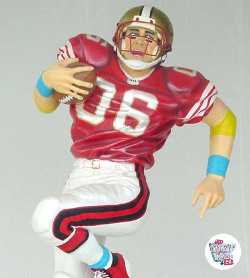Figure Decoration Sports American Football
